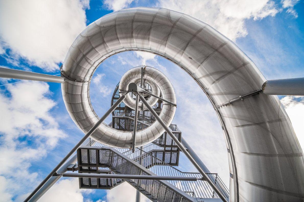 Dominik Gehl captured this dizzying perspective on the corkscrew slide descending from an observation platform at ...