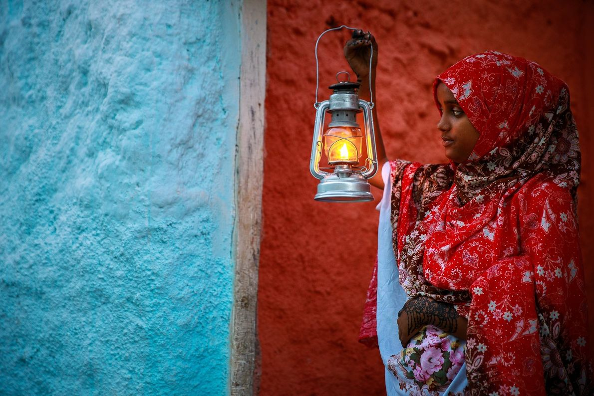 """""""One of the things that strikes you immediately in Harar, Ethiopia, is the mixture of impossible ..."""