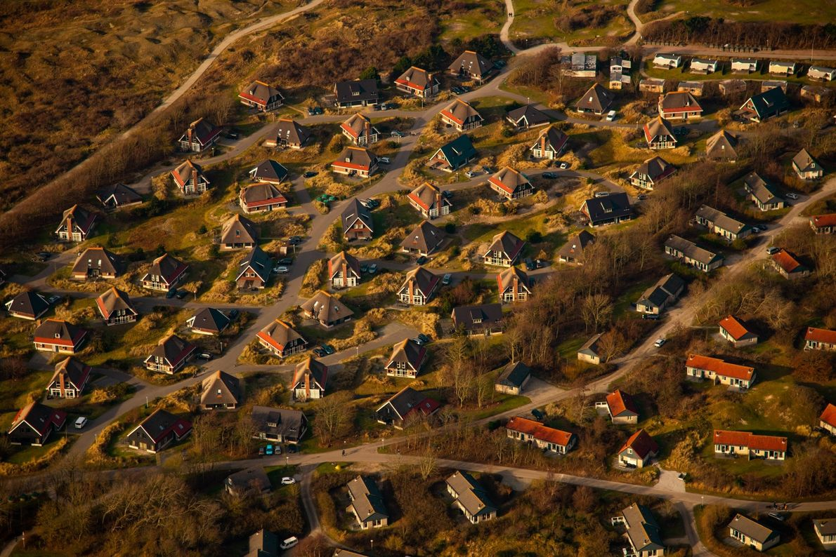 Your Shot photographer Aya Okawa made this aerial photograph of a neighbourhood in the Netherlands.