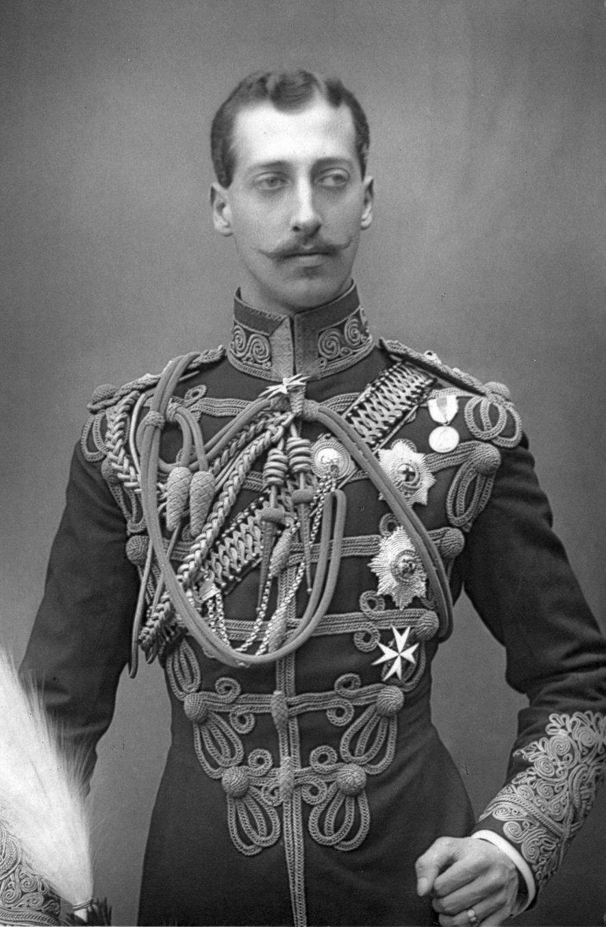 Prince Albert Victor—the grandson of Queen Victoria and eldest son of Edward, Prince of Wales—was second ...