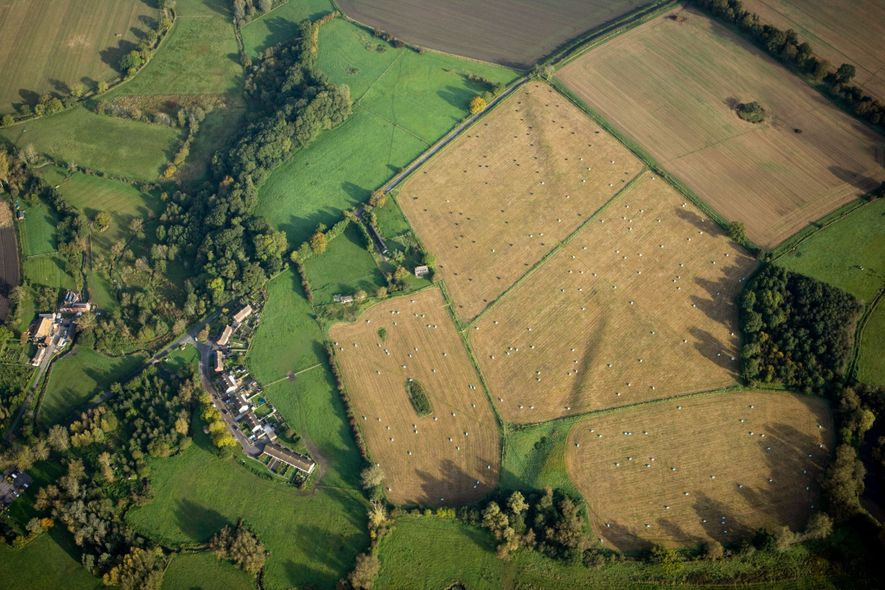 The Neolithic ceremonial site of Marden may be ten times the size of Stonehenge, and was ...