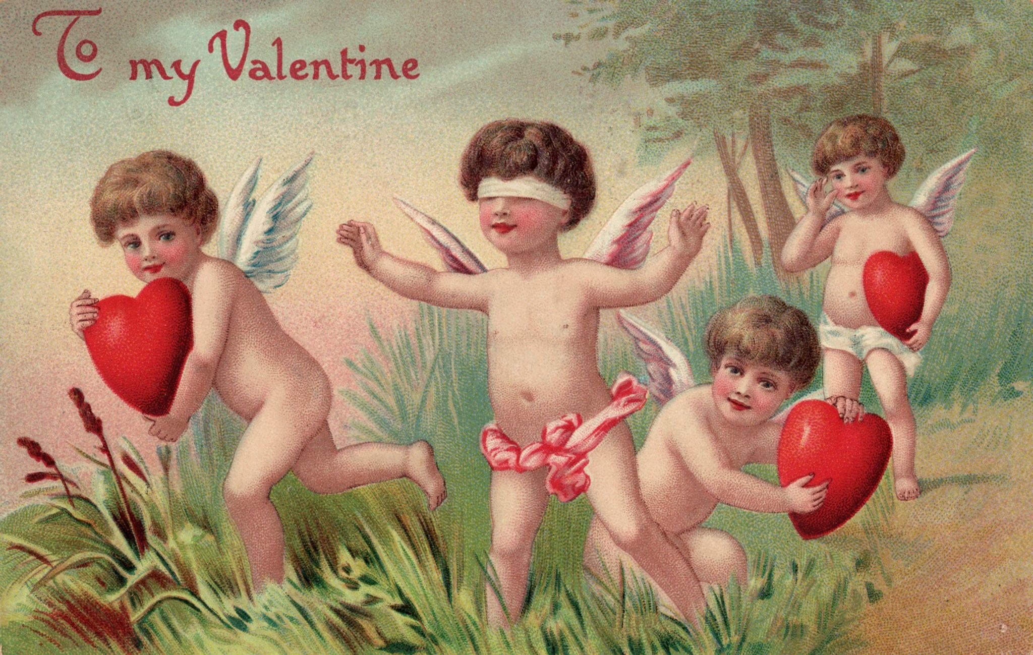 Valentine's Day wasn't always about love