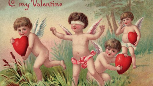 Valentine's Day wasn't always about love