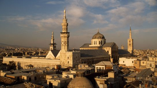 The Great Mosque of Damascus was built 1,300 years ago, when the city served as the ...