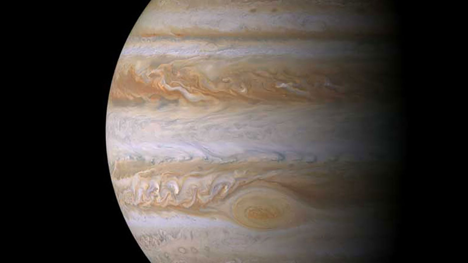 Cassini visited Jupiter on its way to Saturn, making its closest flyby in December 2000. This ...