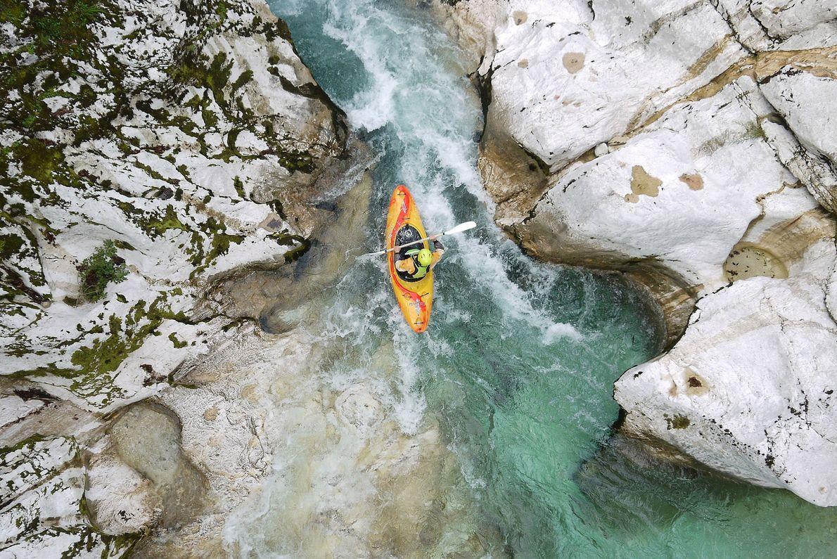 Soča River, northwestern Slovenia
