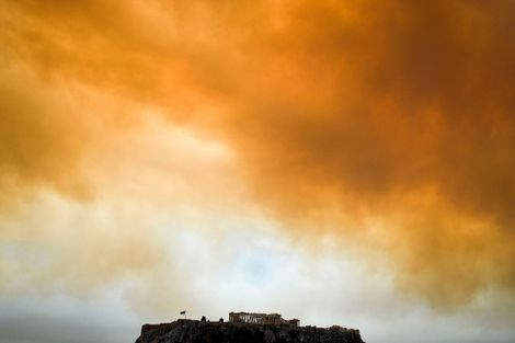 Are Europe's Historic Fires Caused By Climate Change?