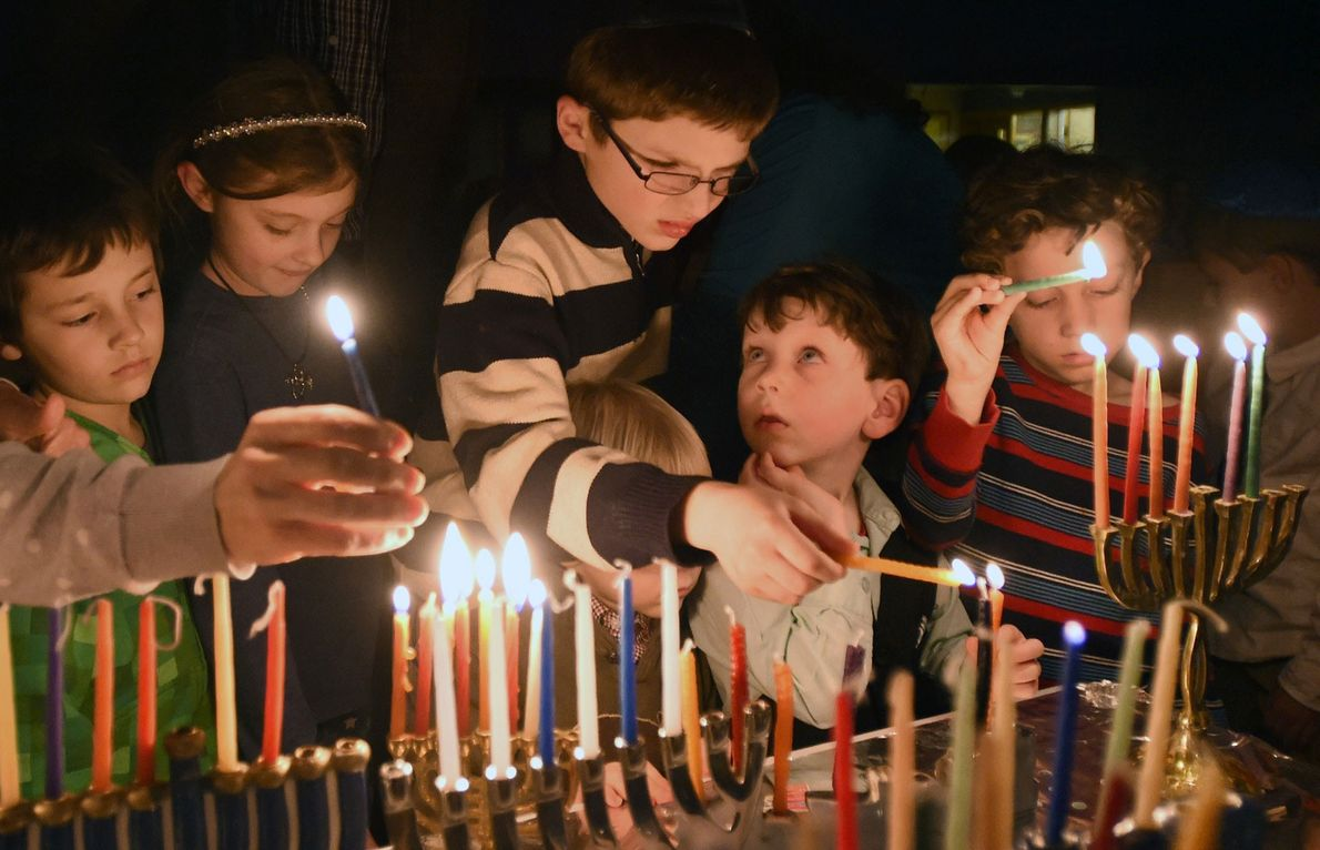 Every night of Hanukkah, one more candle is lit in the menorah. Some may celebrate at ...