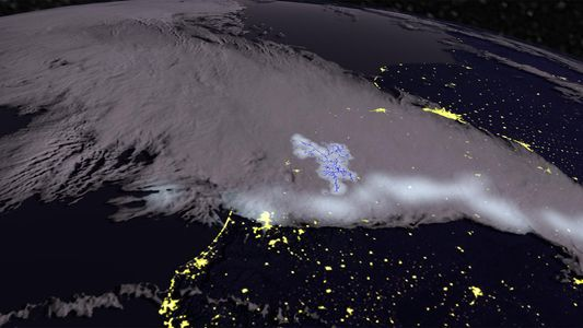 Record-breaking 418-mile long lightning spotted
