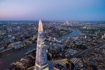 The Shard reigns over London as its tallest building. More than 70 skyscrapers are under way, ...