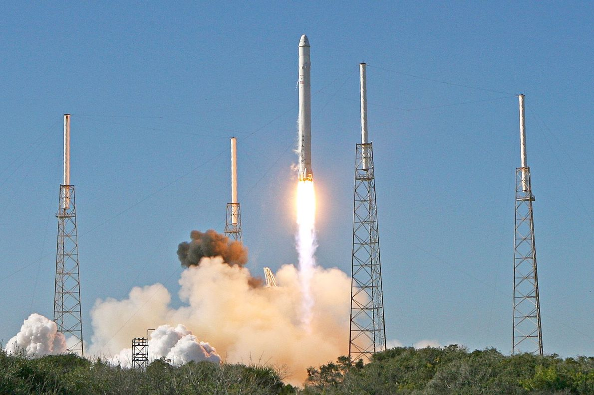 In late 2010, the second flight of SpaceX's next-generation rocket, the Falcon 9, was literally capped ...