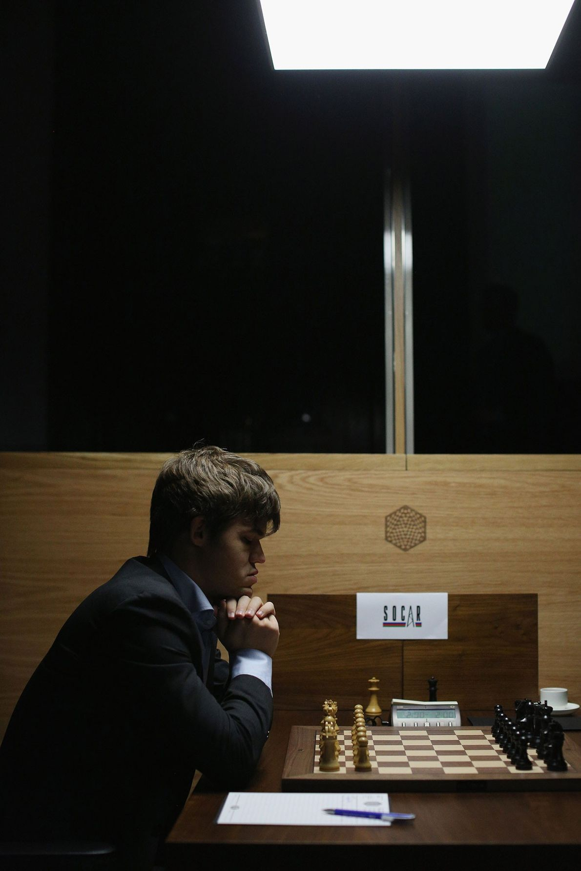 Magnus Carlsen, the world's number one chess player, pictured here, is one of those people who ...