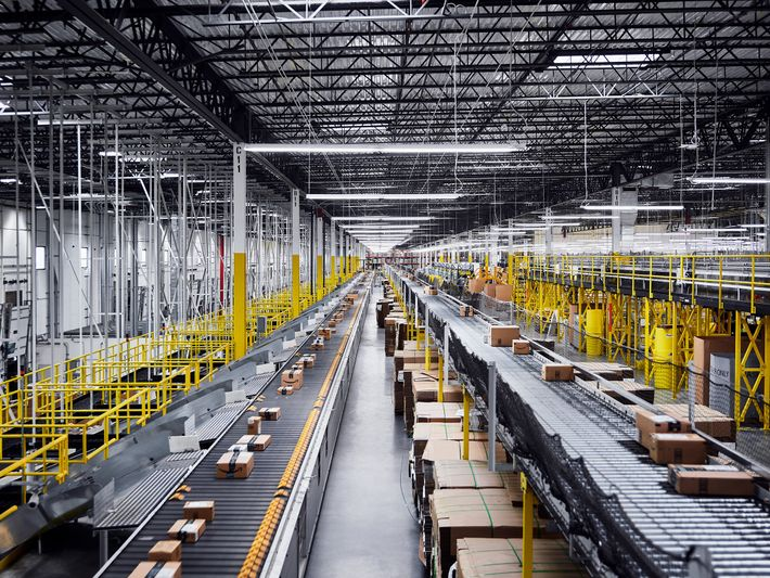 Amazon is one company that has fully embraced the use of AI in many stages of ...