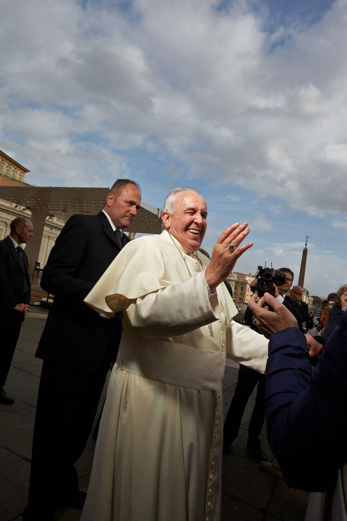 A Papal Chuckle
