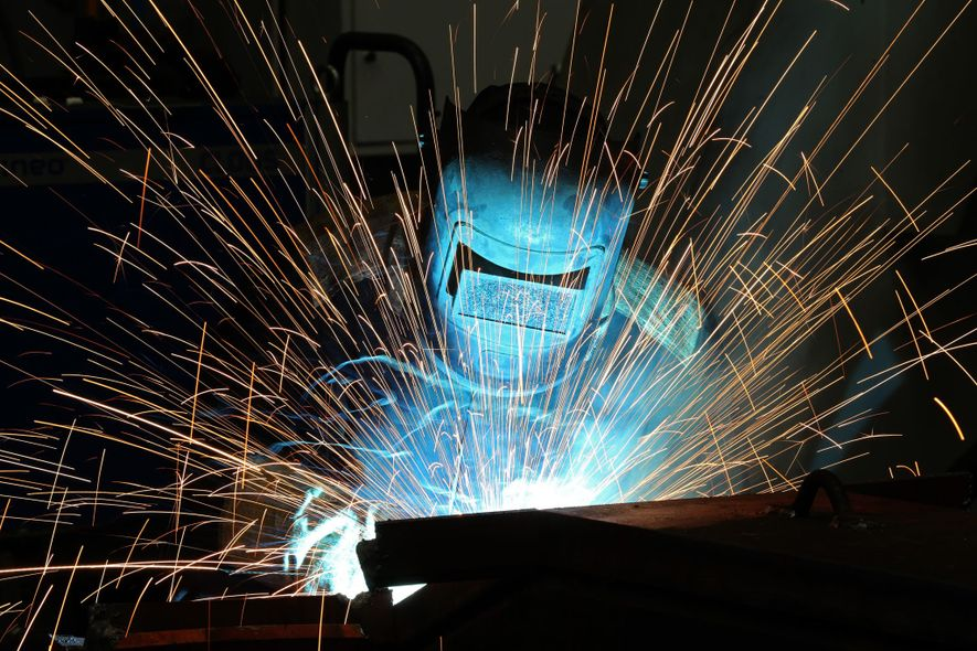 Our brains incorporates anything we hold, such as the tool this welder is using, into our ...