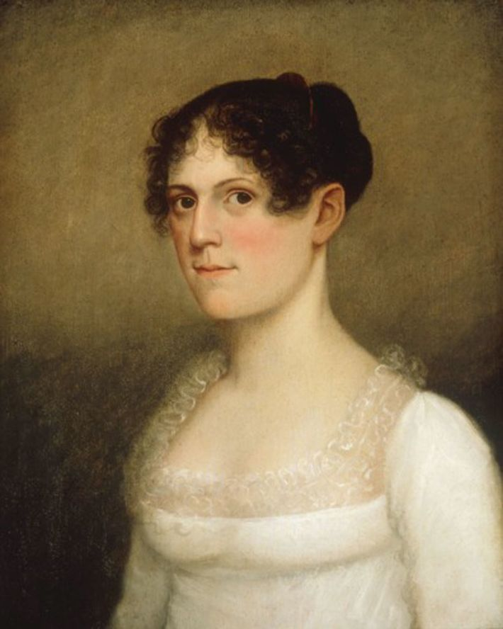 Theodosia was the only child between Burr and his wife to survive childhood. This painting, identified ...