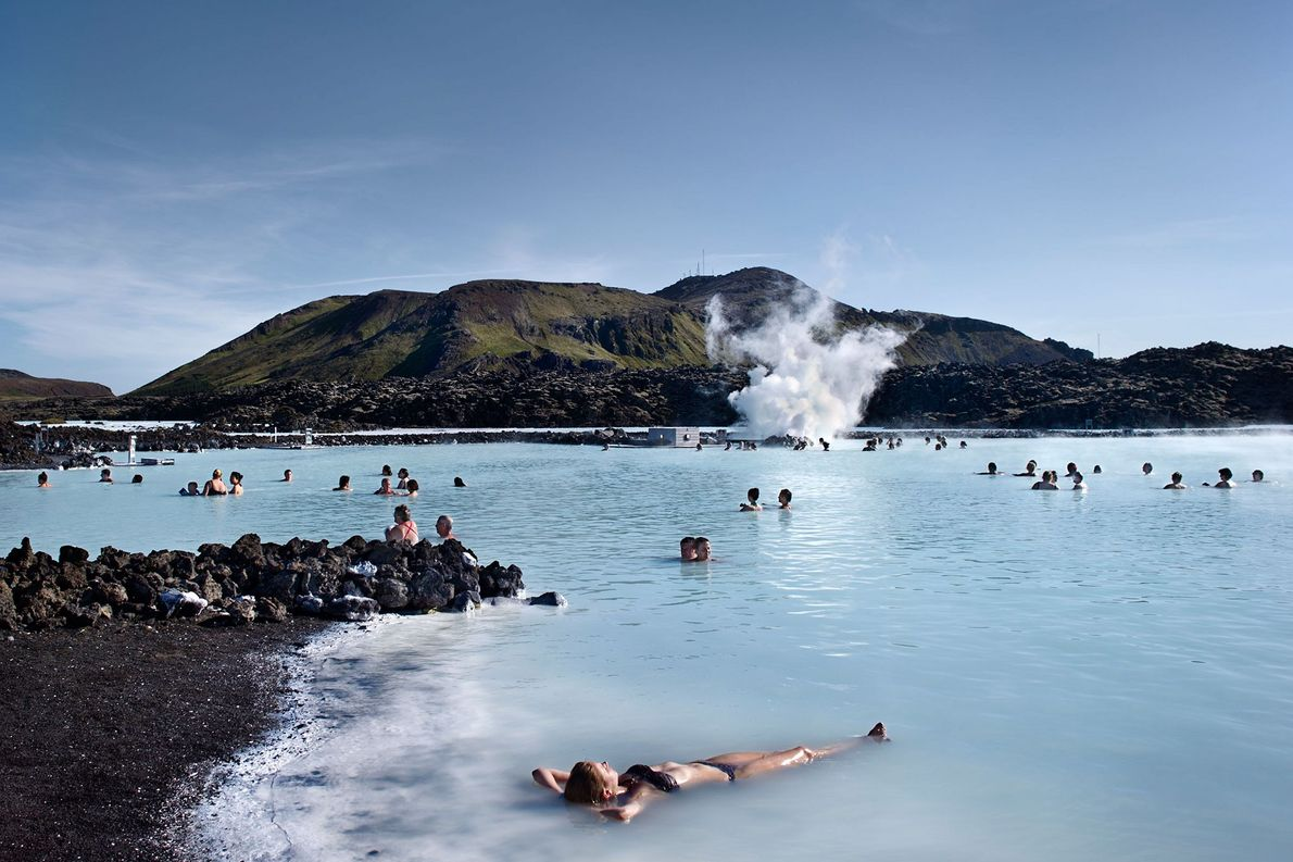 The Blue Lagoon is only one option to take a dip in Iceland's healing geothermal waters.