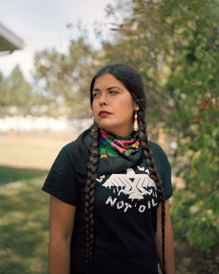 Tara Houska, an Ojibwa of the Couchiching First Nation in Ontario, uses law and advocacy to ...