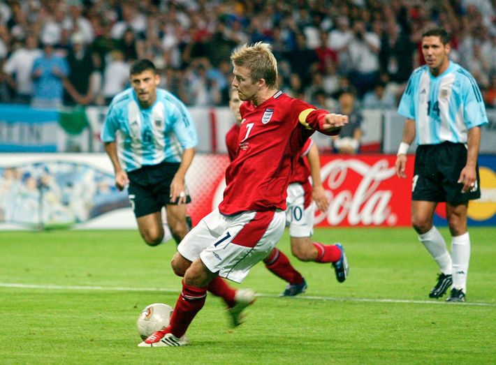 David Beckham made Adidas's kangaroo leather Predator cleats famous at the 2002 World Cup. The leather ...