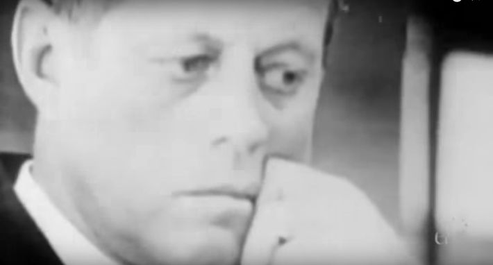 """Video Still From the PBS documentary, """"Missile Crisis: The Man Who Saved the World."""""""
