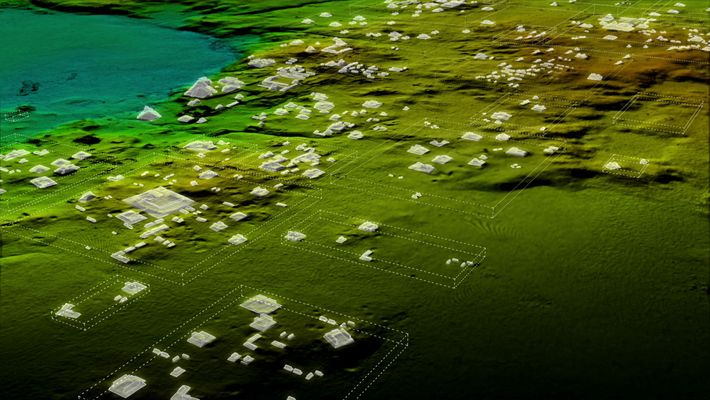 Laser scans revealed more than 60,000 previously unknown Maya structures that were part of a vast ...