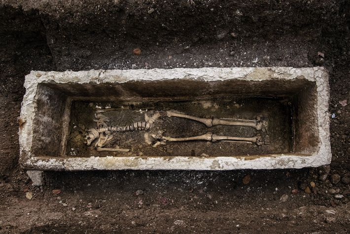More than 300 burials have been discovered beneath Gosposvetska Street, providing scientists with the opportunity to ...