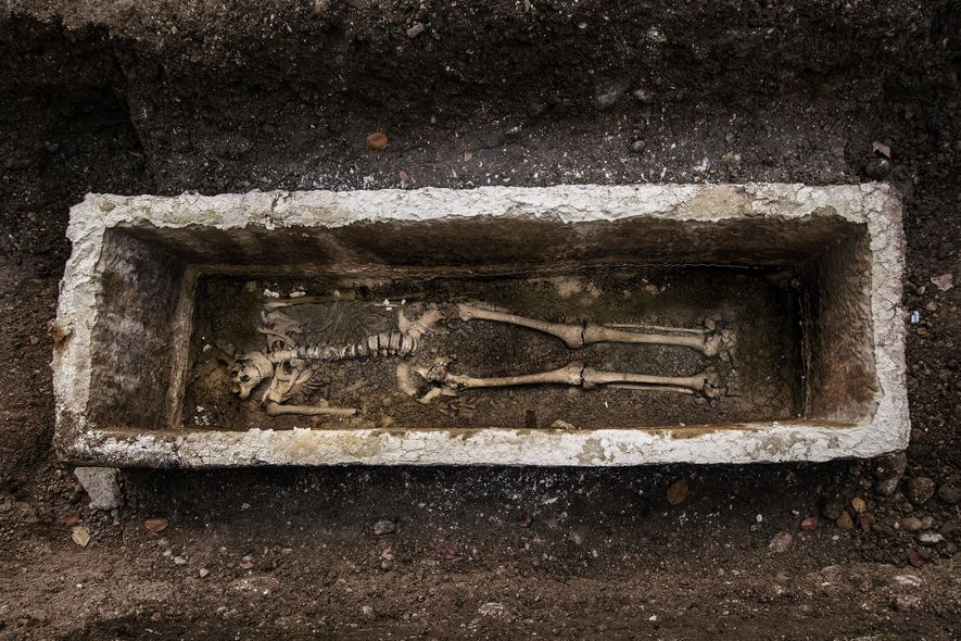 Mystery Surrounds Woman Unearthed by Archaeologists in Early Christian Cemetery