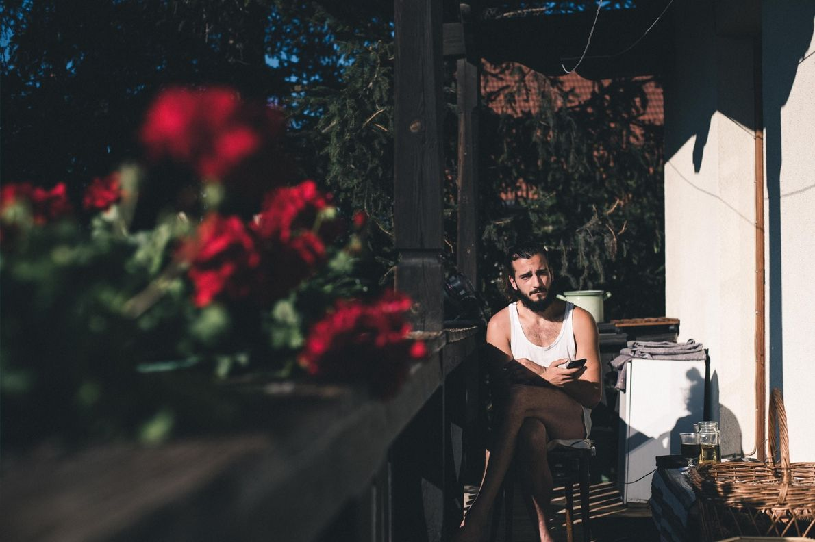 Your Shot photographer Ninive Viktoria Guenes made this portrait on the balcony of the home she ...