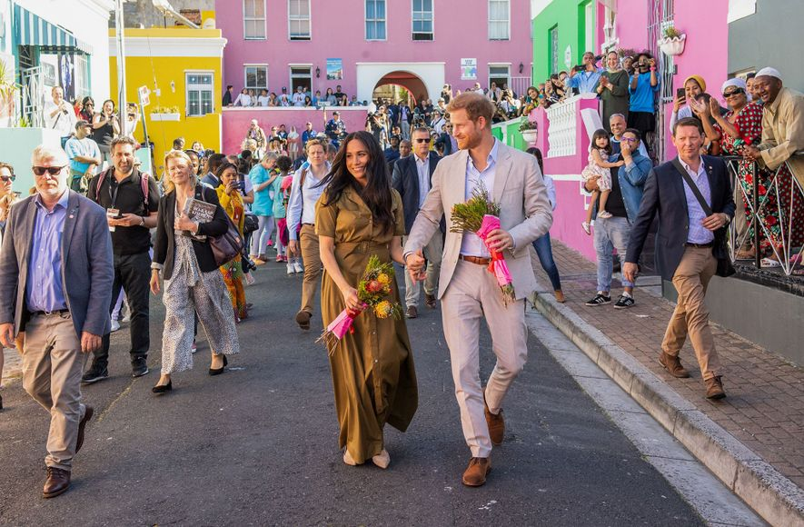 Sussex royals celebrate Cape Town's colourful cultural bastion