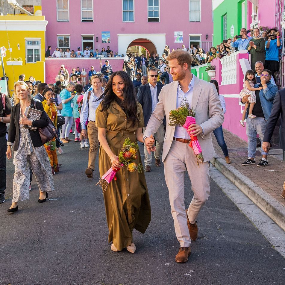 Sussex royals celebrate Cape Town's colourful cultural bastion
