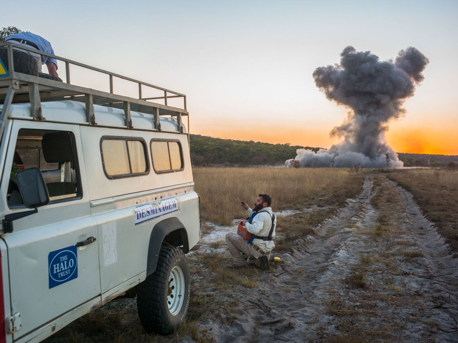 Angola was heavily mined during decades of civil war. Now, the goverment has partnered with conservationists ...