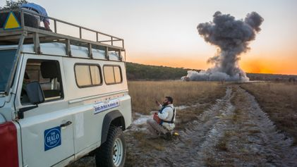 In Angola, The Duke of Sussex joins quest to eradicate landmines