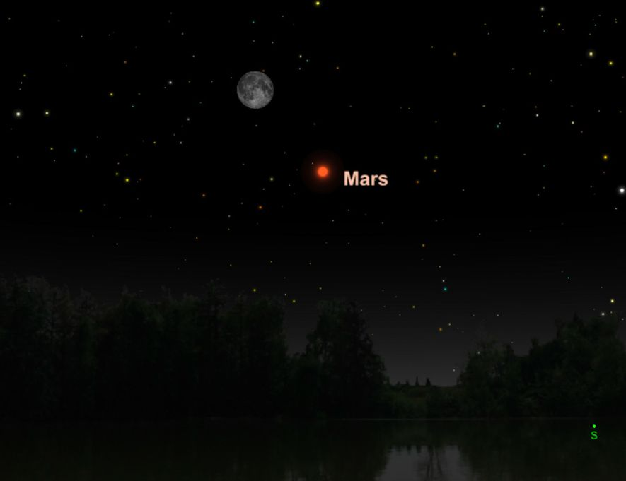 Mars will be at its biggest and brightest since 2003 in July.