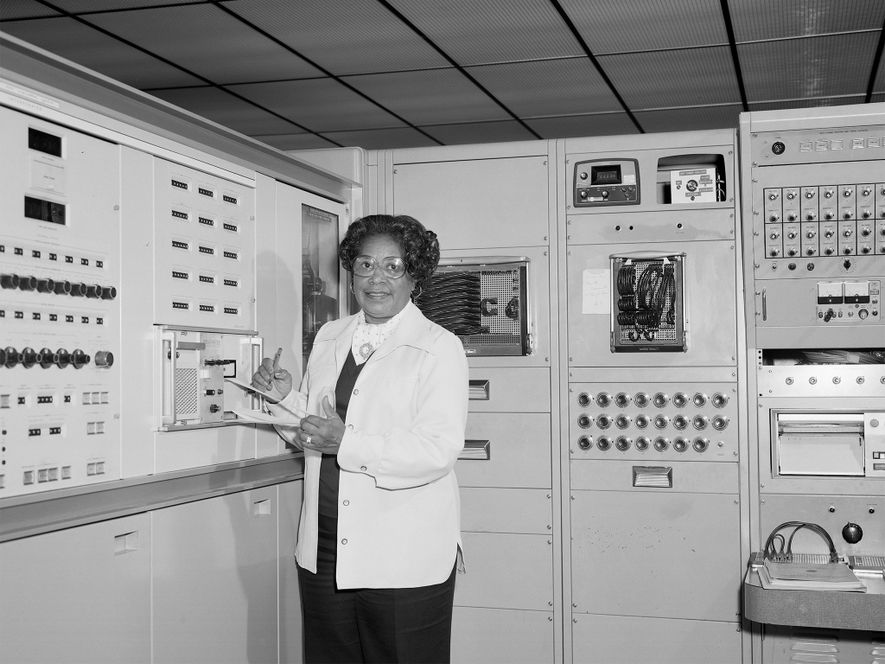 Mary Jackson spent 34 years on the job at NASA as a mathematician and aeronautical engineer.