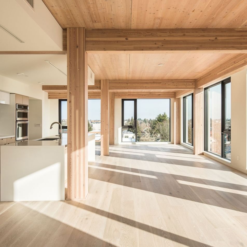 Will the skyscrapers of the future be made out of wood?