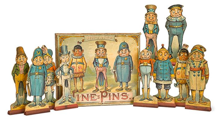 An early example of licensed merchandise, Palmer Cox's Brownies began as pictorial books - but the ...