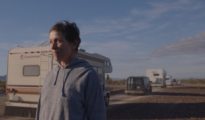 Nomadland follows the story of Fern (Frances McDormand), a woman in her sixties who, finding herself facing ...
