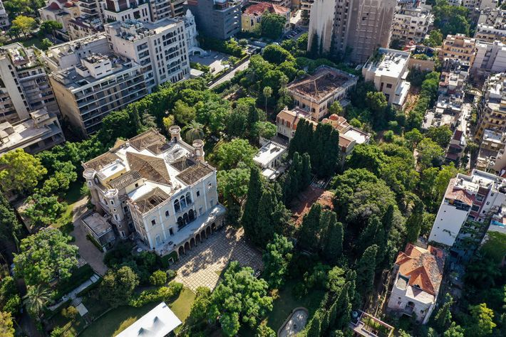 Among the approximately 6,000 damaged buildings is Sursock Palace, a storied 19th-century structure in the city's ...