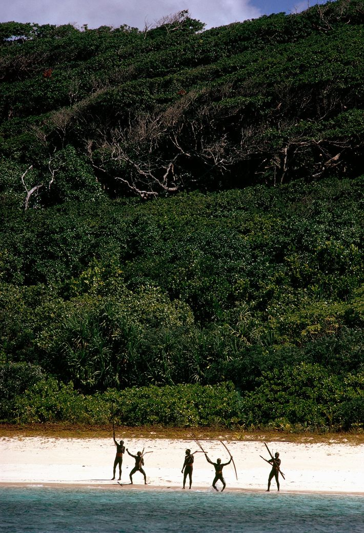 Warriors prancing with bows and arrows along the island's beaches are a testament to the tribe's ...