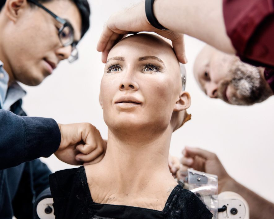 Meet Sophia, the Robot That Looks Almost Human