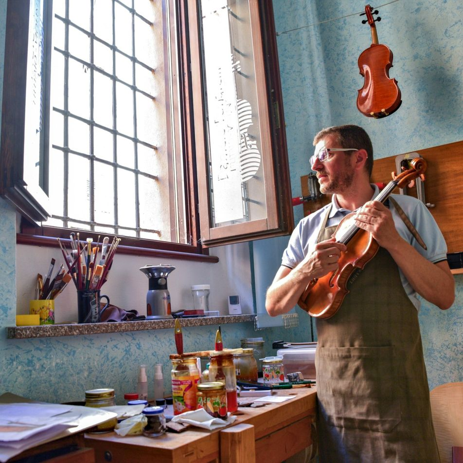 Reeling from COVID-19, Italy's violin capital is rebounding with music