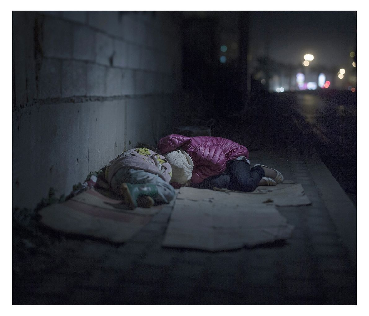 Back home in Damascus, Ralia,7, and Rahaf, 13, lost their mother and brother to a grenade. ...