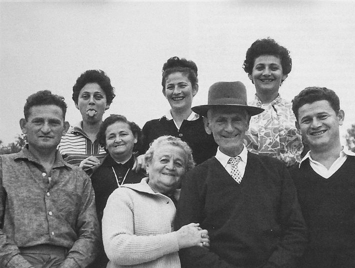 Missing from this happy gathering of the Friedman family in Israel in 1963 is Lea, who ...