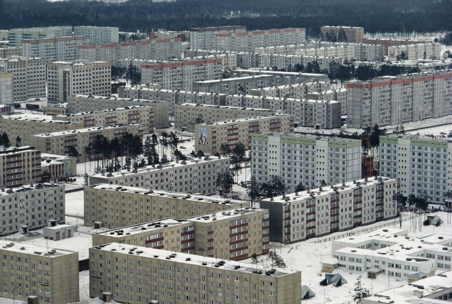The city of Pripyat was built to house workers of the nuclear power plant in the ...