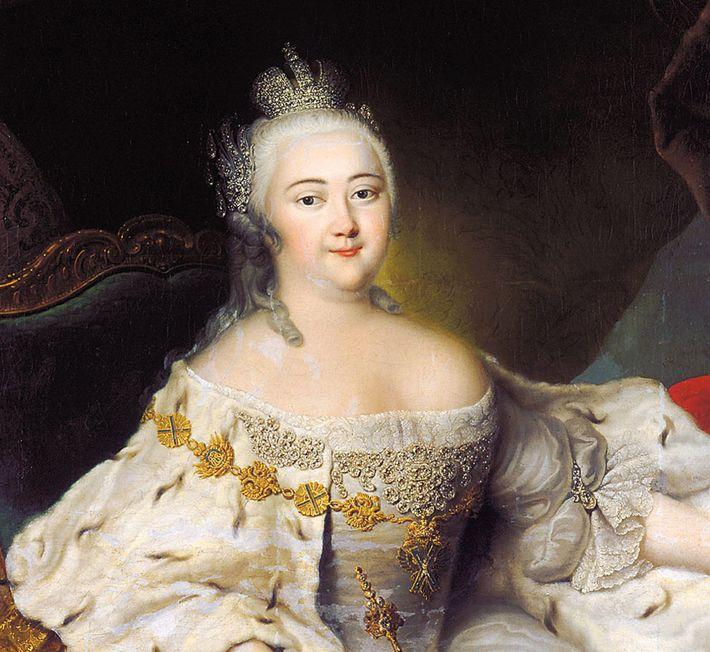 Elizabeth of Russia (1709-1762), Hermitage Museum, St. Petersburg