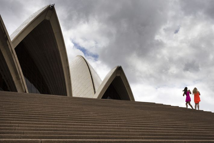 Symbol of Austraila, the Sydney Opera House aims to be carbon-neutral by its 50th anniversary in ...