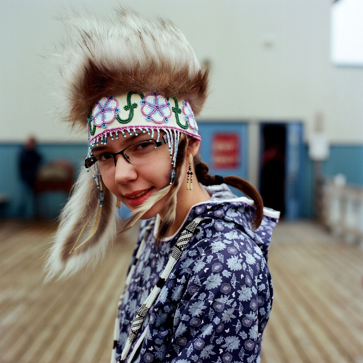 """I have been dancing since I was 5. I am part of the Ayaprun Elitnaurvik Dance ..."