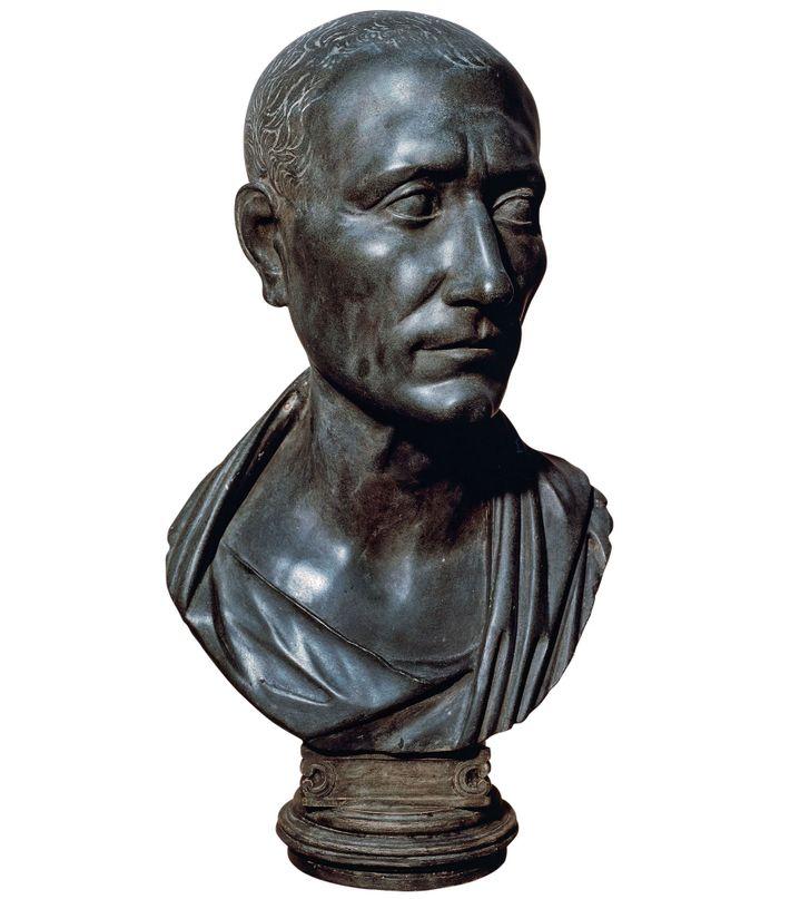 Julius Caesar. First-century B.C. bust, Vatican Museums