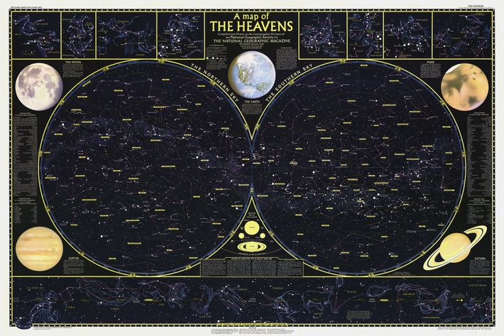 1957 Map of the Heavens