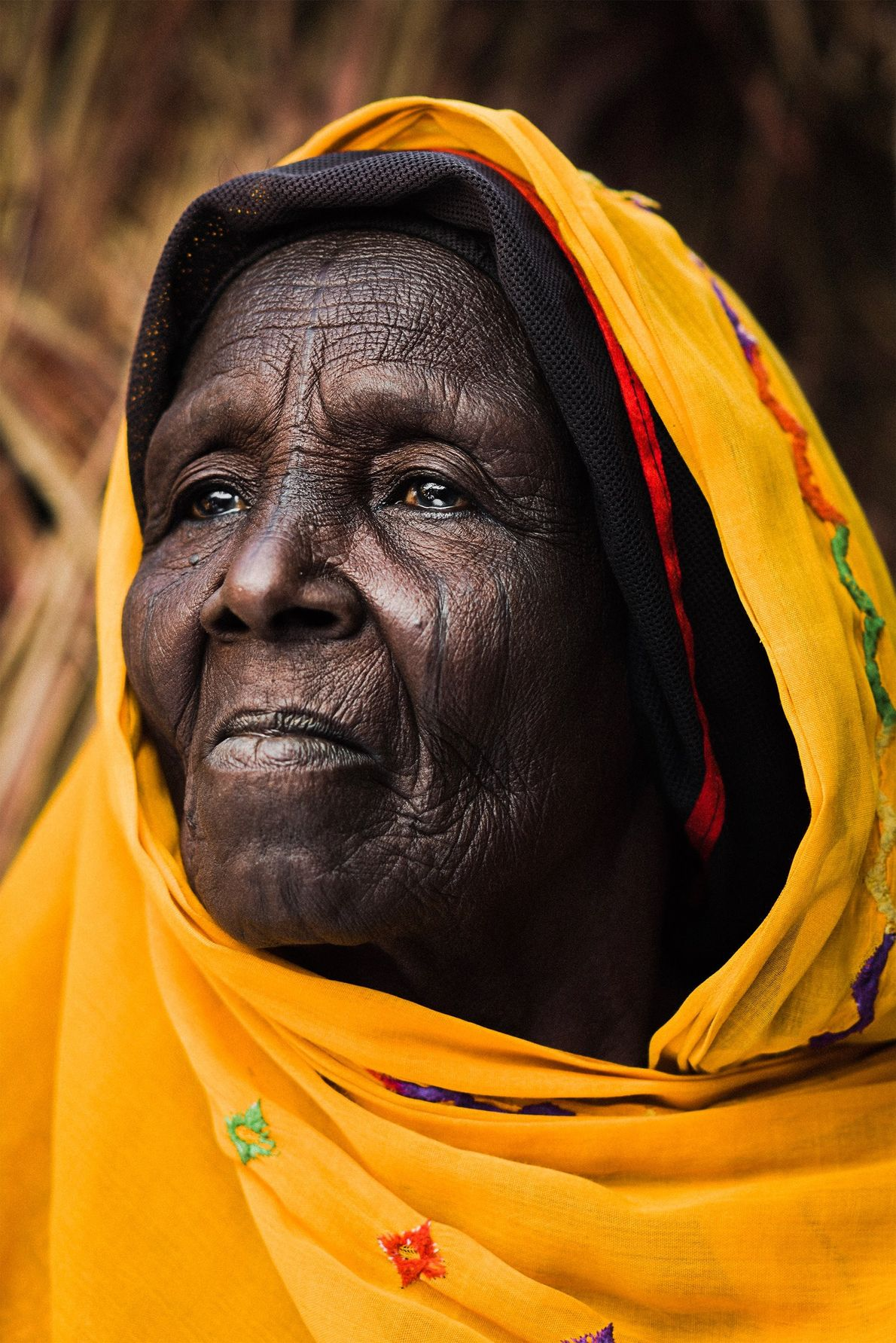 Your Shot photographer Chris Parkes made this portrait of Falmatta in Nigeria, whose real name has ...